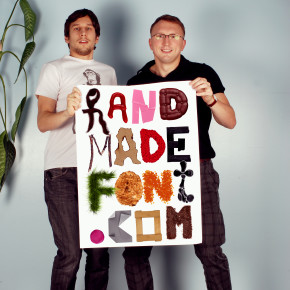 Handmadefont.com has a great selection of photographic fonts.