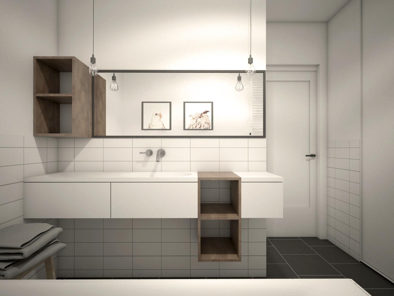 Il bagno delle meraviglie in meno di 5 mq vhd for Design postmoderno