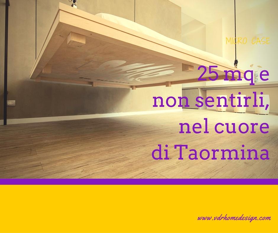 25 mq e non sentirli, nel cuore di Taormina