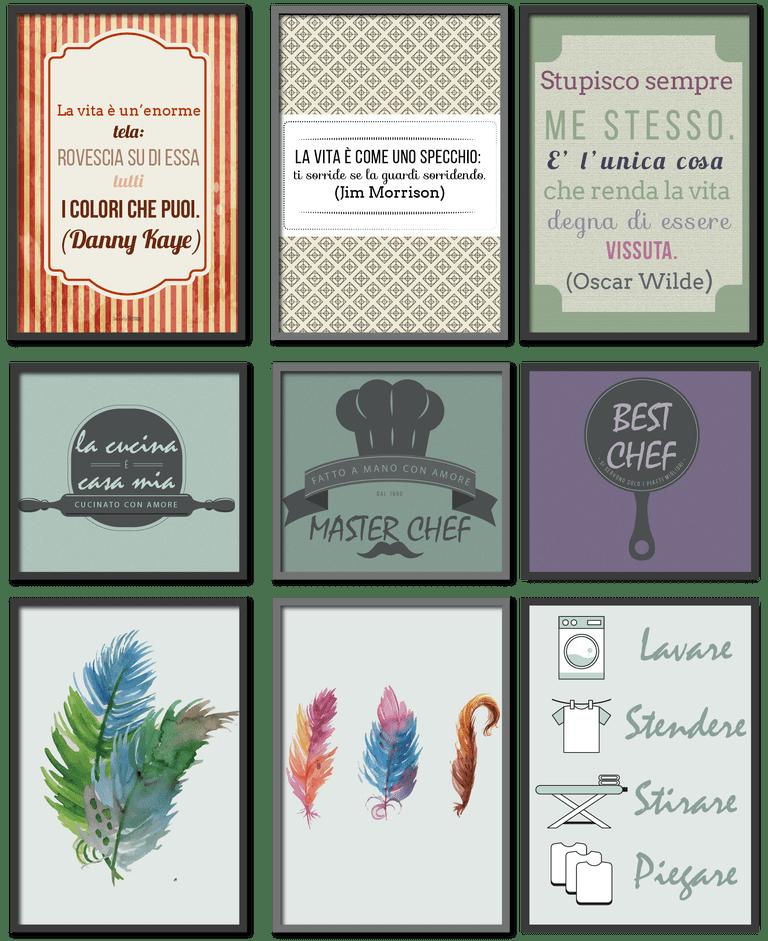 Dove trovare quadri stampabili gratis online per arredare casa for Arredare casa on line gratis