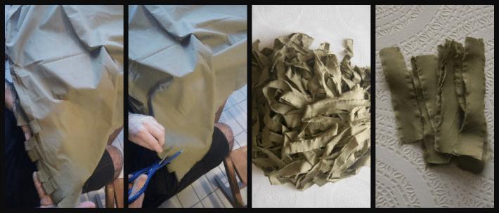 tutorial per un tappeto fai-da-te