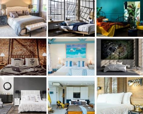 Immagini di camere da letto nei diversi stili di arredamento casa