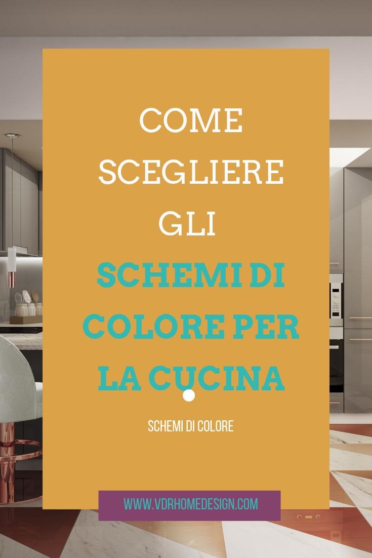 Come scegliere gli schemi di colore per la cucina