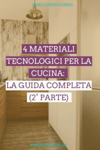 materiali tecnologici per la cucina