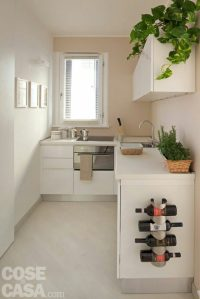 arredare la cucina sotto la finestra col piano cottura ad induzione