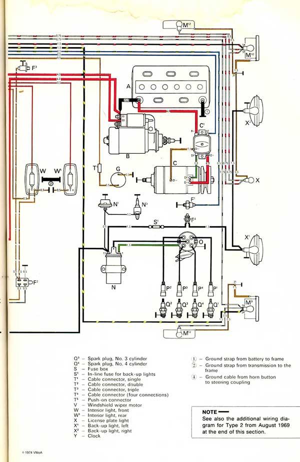 thesamba wiring diagram thesamba image wiring diagram original wiring diagram thanks from thesamba com on thesamba wiring diagram