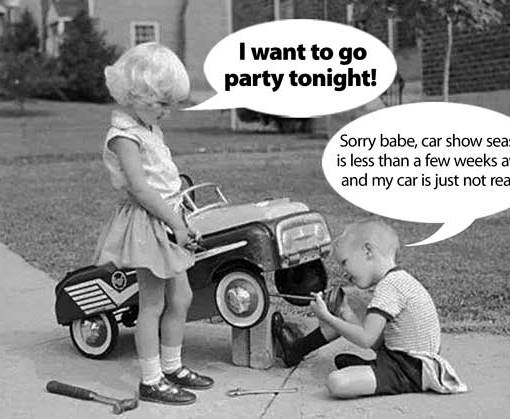 Sorry babe!