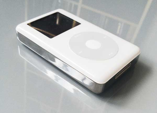 my iconic 4th generation Apple iPod, fully upgraded and ready to go again!