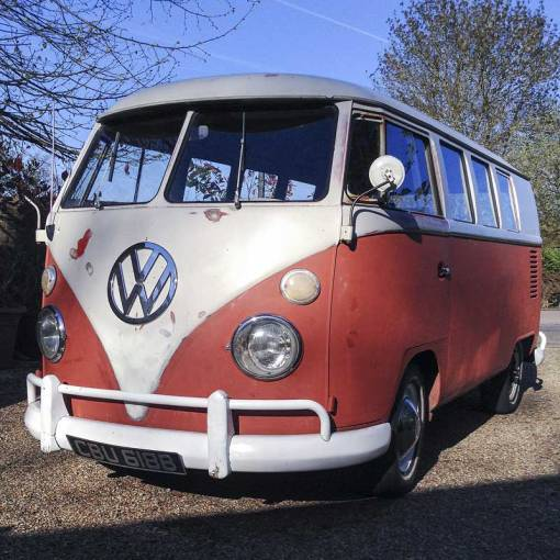 say hello to my 'new' 1964 VW original paint bus!