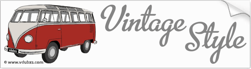 The ultimate in vintage style, a deluxe Samba camper van in Sealing Wax Red and Beige Grey