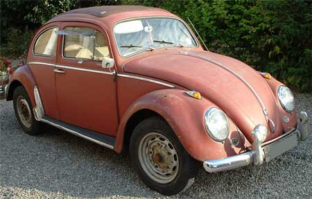 1960 Original paint ragtop Beetle