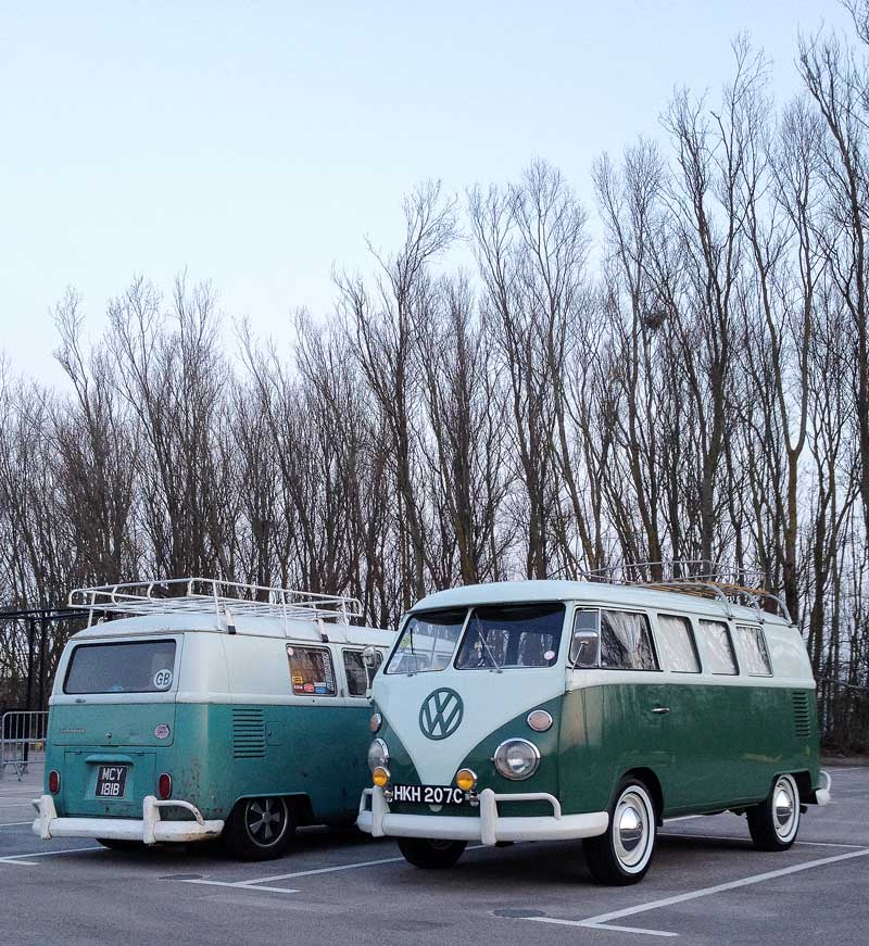 Camp out at Cite Europe pre Ninove cruise…