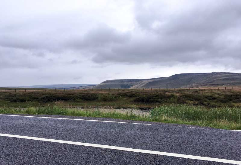 from river and forest pass to bleak moorland hills, the Snake Pass is a great drive