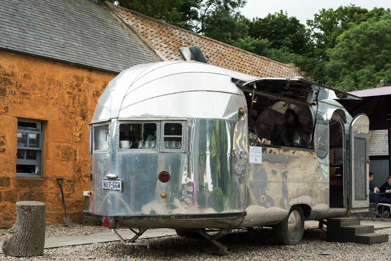 always a sucker for a vintage 'Clipper' Airstream caravan