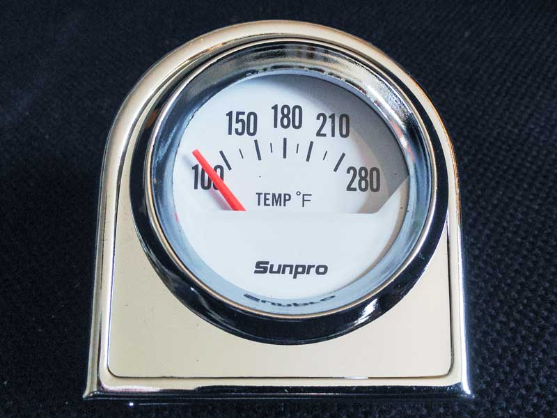 Sunpro Electrical Water/Oil Temperature Gauge Part Nº CP8201