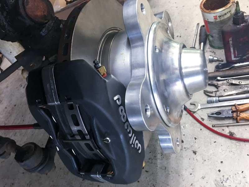 Fellows Speedshop disk brake kit for wide 5 wheel fitment