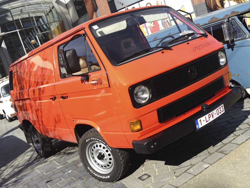 """awesome 16"""" syncro T3 panel van"""