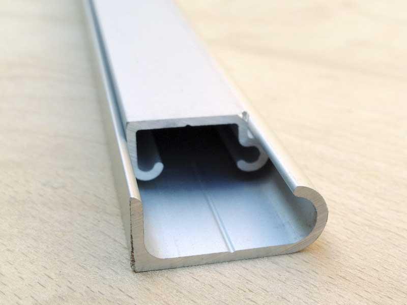 Devon style aluminium table to wall fixing