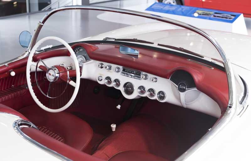 Chevrolet Corvette interior dash
