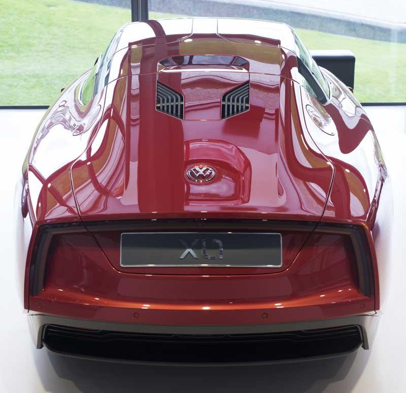 the futuristic VW XL1