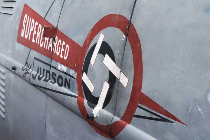 Supercharged by Judson signwriting