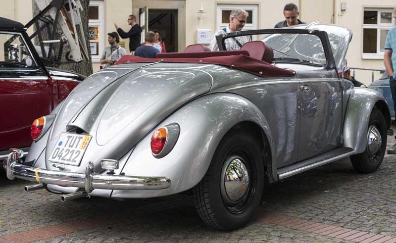 stunning coachbuilt Hebmüller cabriolet