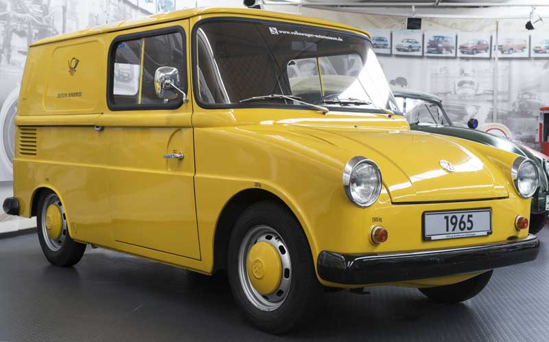 Volkswagen Type 147 'Fridolin' postal van – Deutsche Bundespost