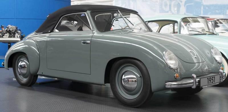 1951 Dannenhauer & Stauss VW Type 1 Cabriolet