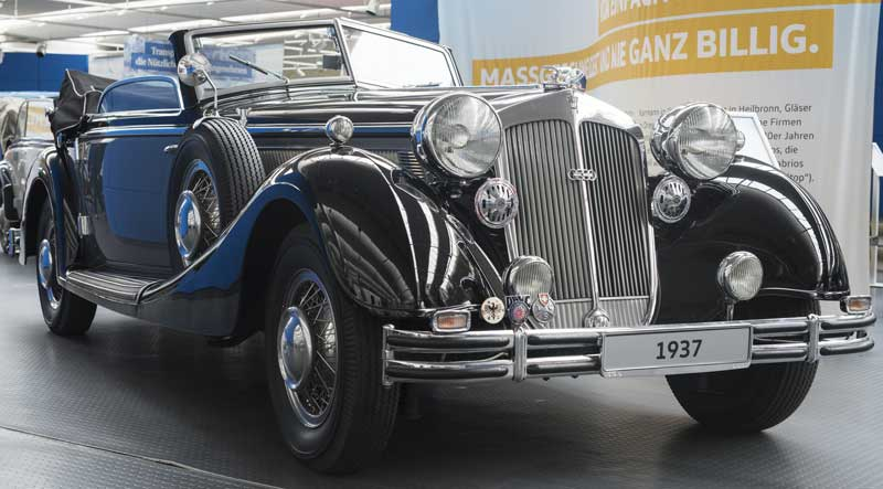 1937 Audi Horch 853 Sport Cabriolet