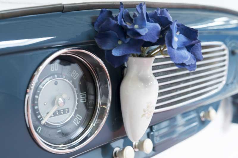 Porcelain Bud Vase display