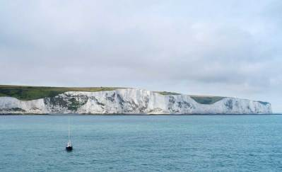 the white cliffs of Dover mean I'm nearly home again