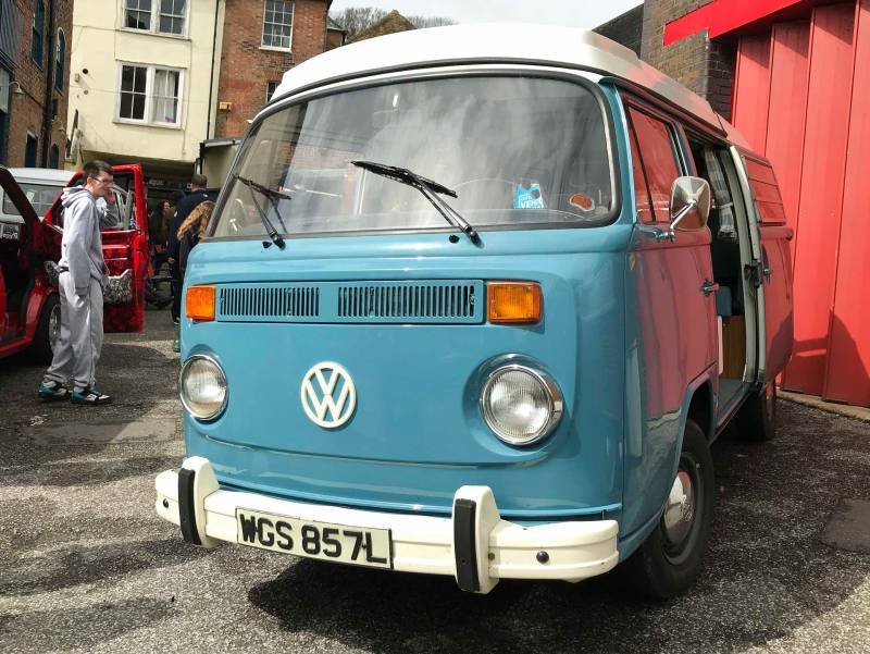 beautiful original condition late bay Westfalia camper