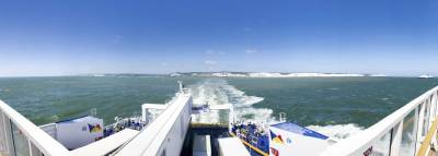 bye bye England and the white cliffs of Dover
