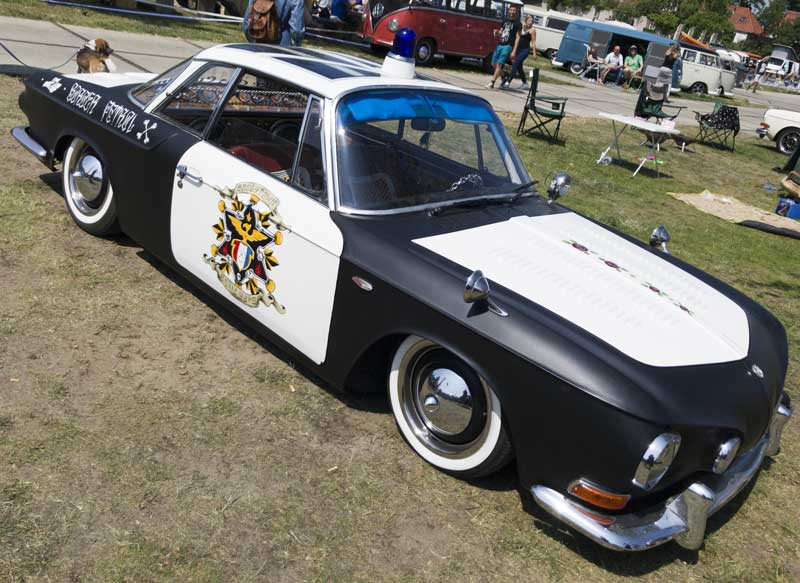 radical custom Razor Edge Karmann Ghia
