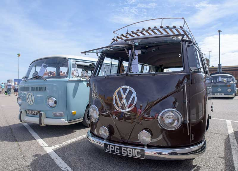 a great turn out of some very sweet looking buses