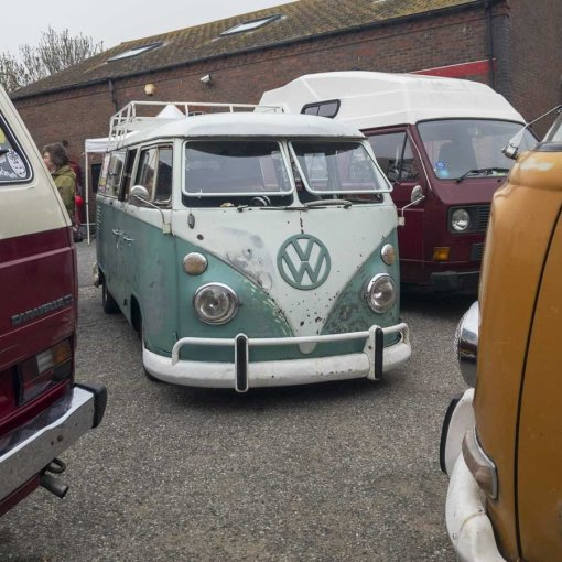 Water and air-cooled VW's can mix