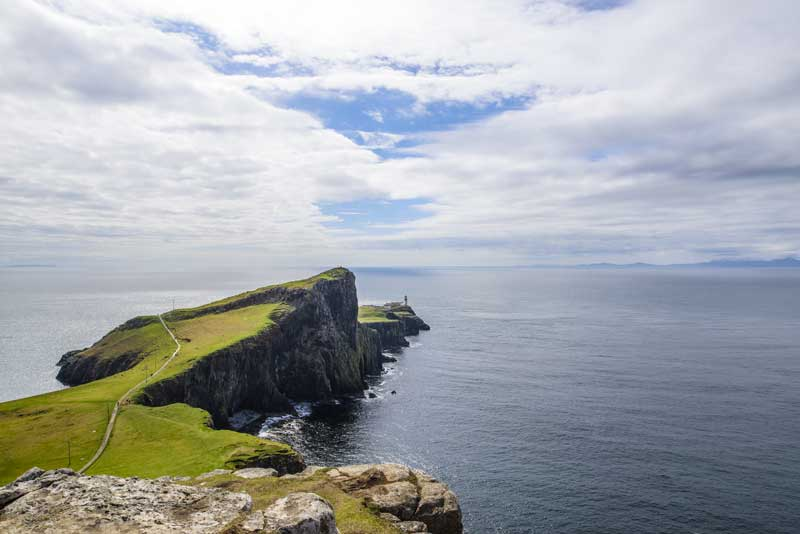 opps, we've run out of road… Neist Point lighthouse