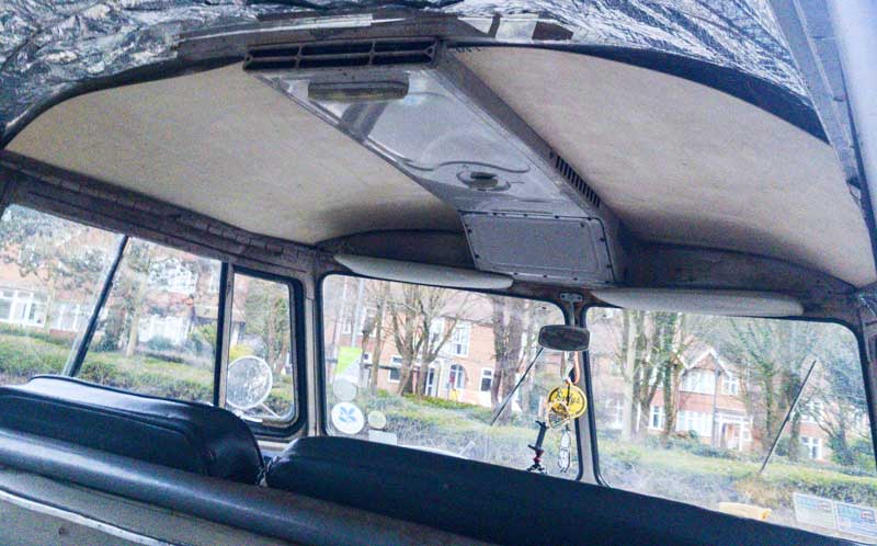 the ply cab headliner will give a different interior vibe