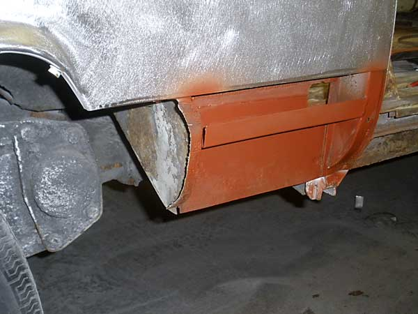 treated with red oxide primer