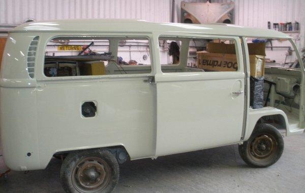 sliding/cargo door fitted up