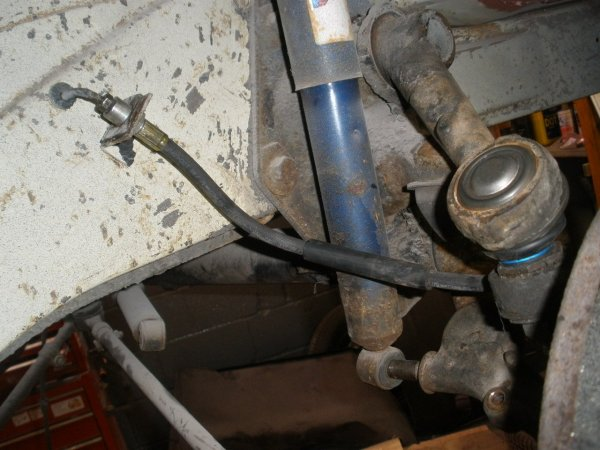 brand new flexi hoses for the front and back brakes