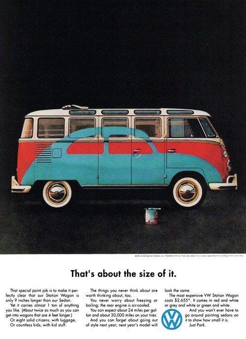 Vintage Volkswagen advert