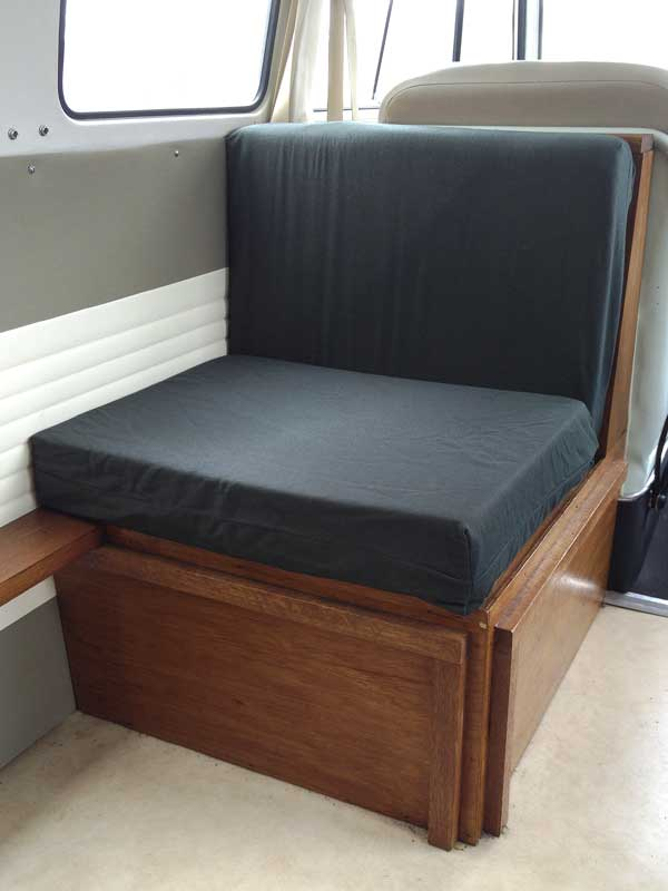 The original Canterbury Pitt 'buddy seat' with storage underneath