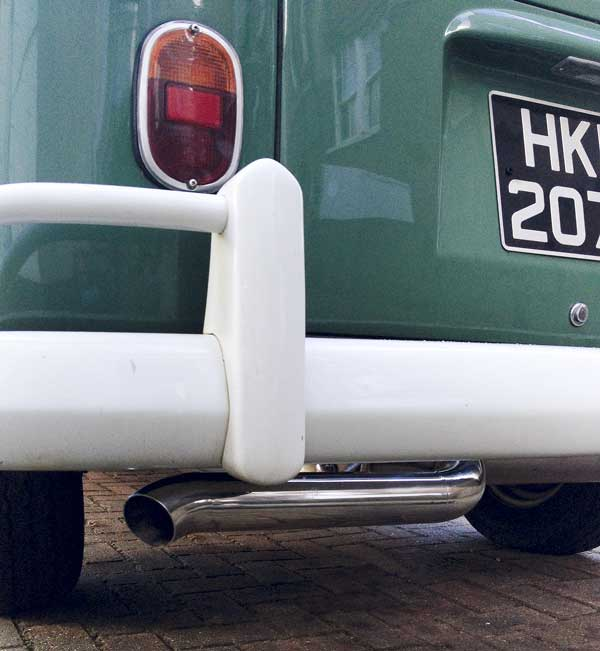 the new Vintage Speed exhaust reminds me with of an old skool 'zoom tube' exhaust