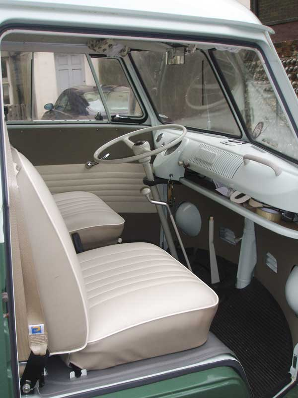 The front seats had been recovered along with all door cards and side panels