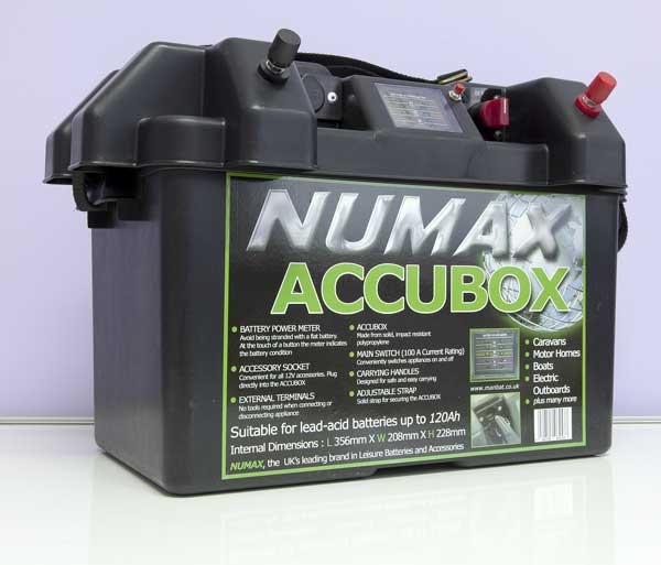 Numax Accubox leisure battery box