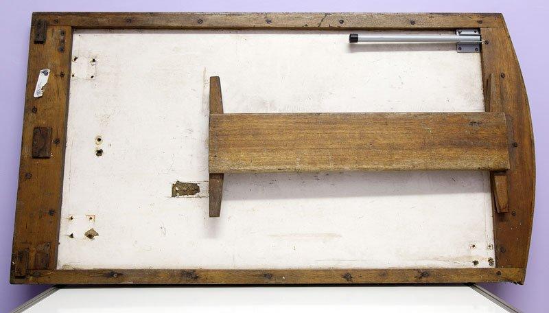 Original Canterbury Pitt table (underside)