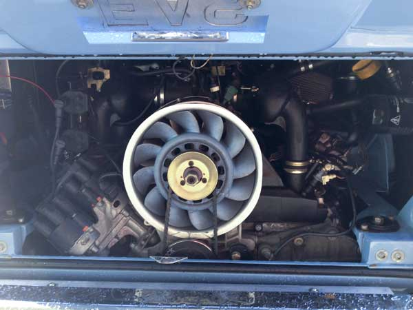 apparently a Porsche engine bolts straight in…