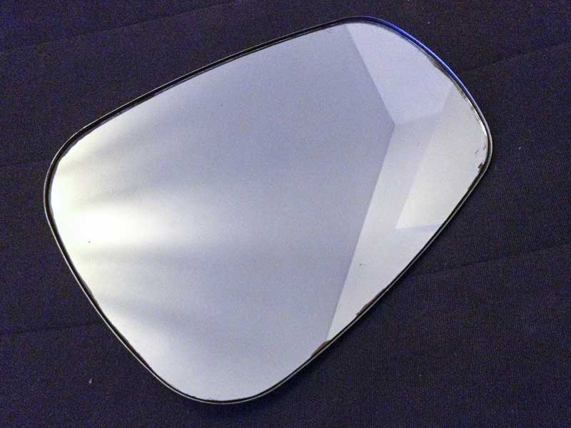 'elephant ear' mirror head only – ideal for replacement mirror piece