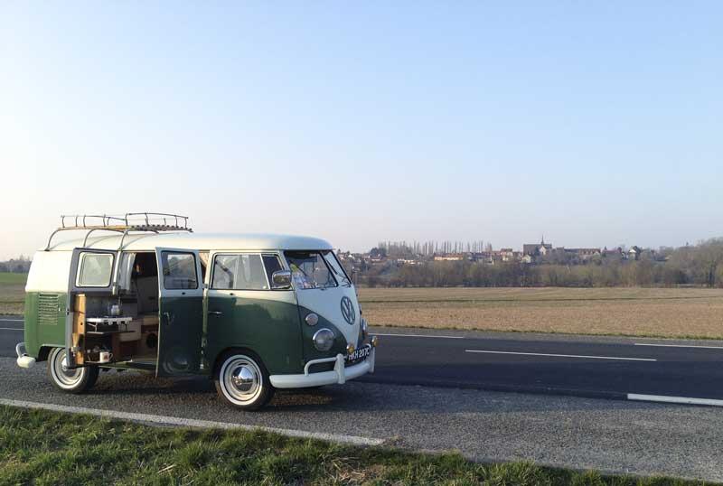happier times – tea break on the road trip
